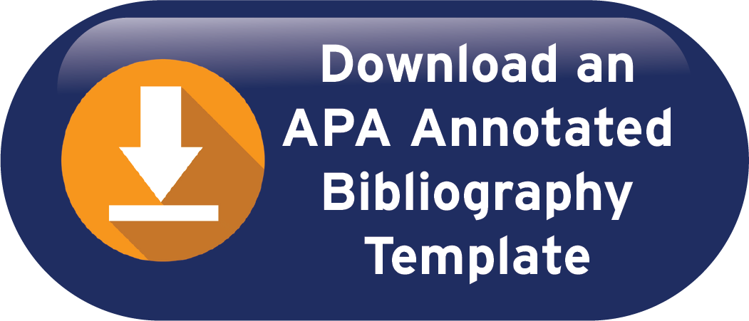 Download an APA Annotated Bibliography Template